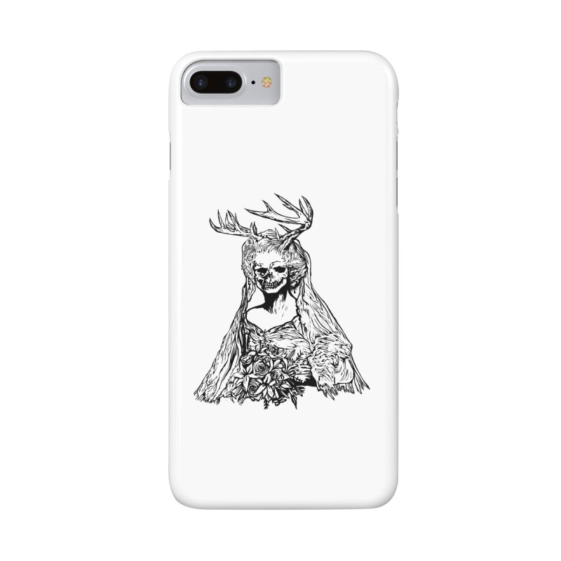 Skeleton bride Accessories Phone Case by DaNkJiMz