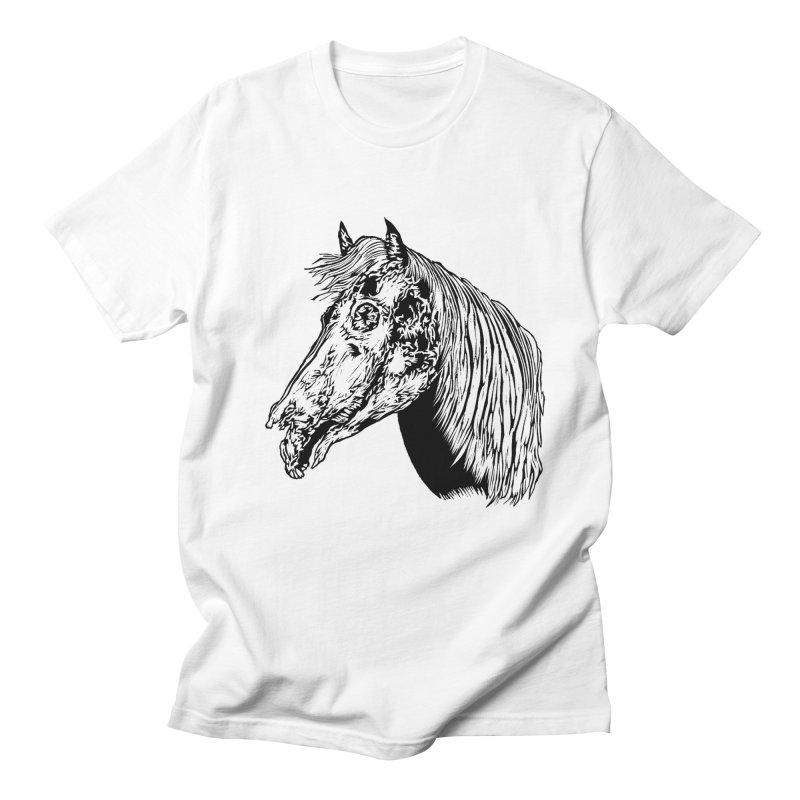 Zombie Horse Men's T-shirt by DaNkJiMz