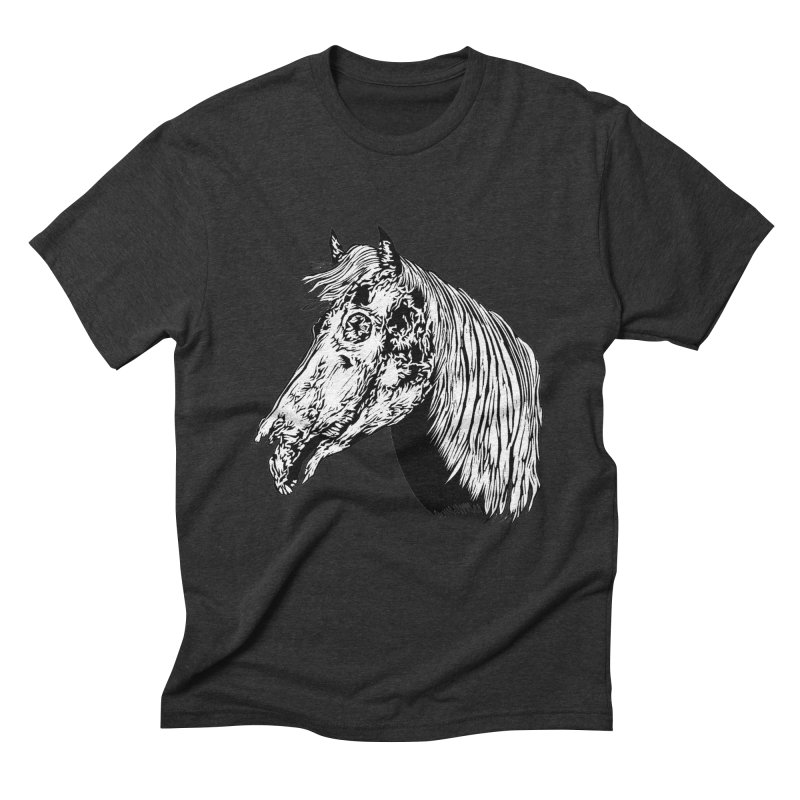 Zombie Horse Men's Triblend T-Shirt by DaNkJiMz