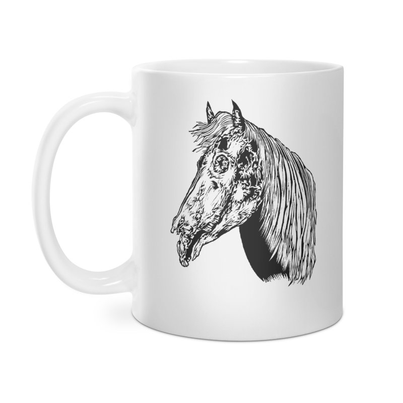 Zombie Horse Accessories Mug by DaNkJiMz