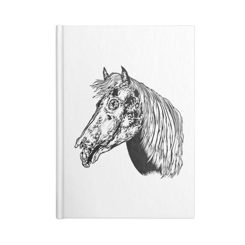 Zombie Horse Accessories Notebook by DaNkJiMz