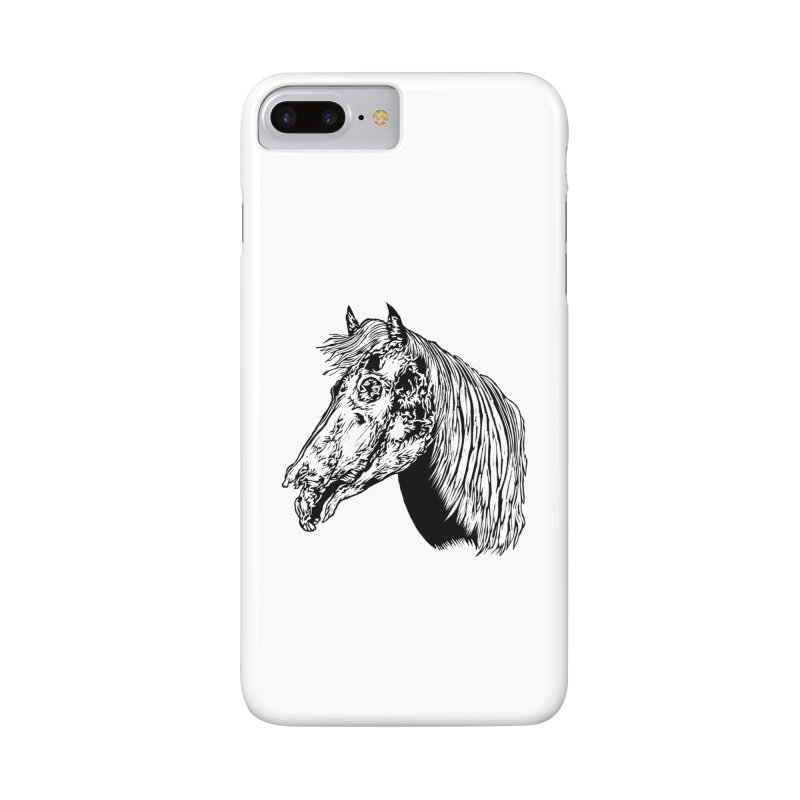 Zombie Horse Accessories Phone Case by DaNkJiMz