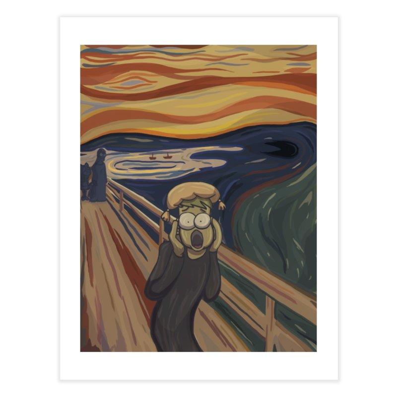 Daedalic - The Scream Home Fine Art Print by Official Daedalic Merchandise