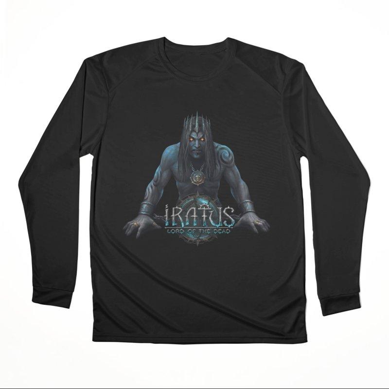 Iratus - Necromancer & Logo Women's Longsleeve T-Shirt by Official Daedalic Merchandise