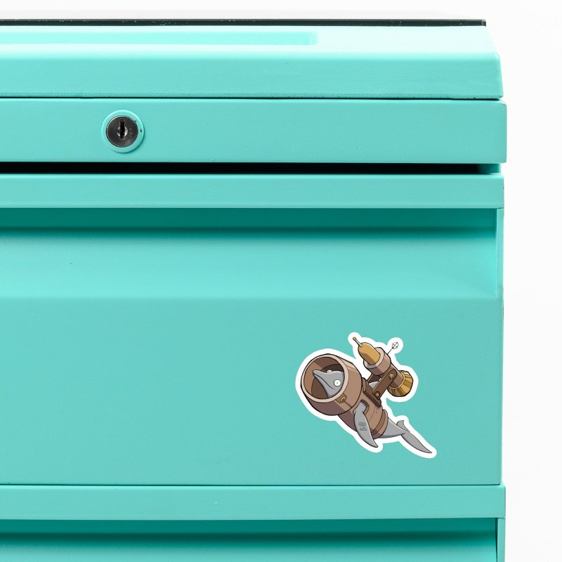 Deponia - Torpedo Dolphin Accessories Magnet by Official Daedalic Merchandise