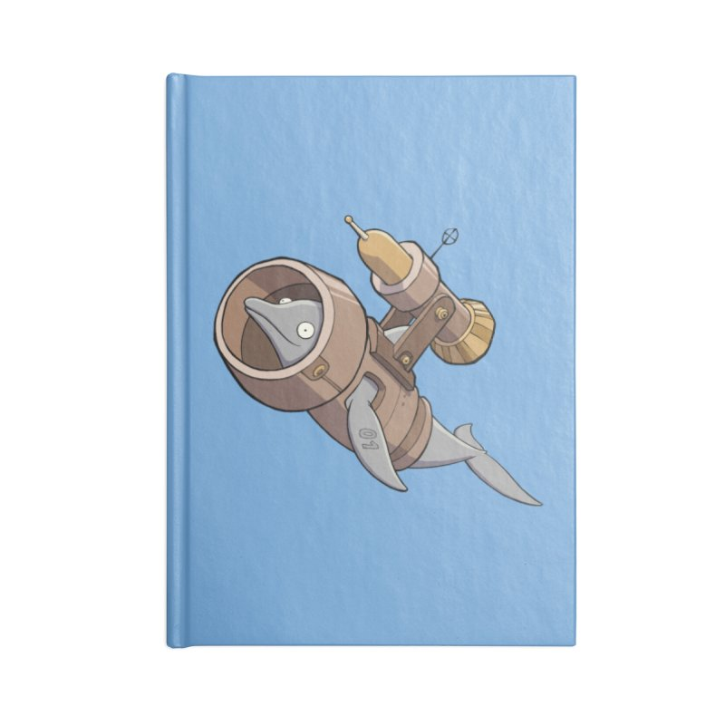 Deponia - Torpedo Dolphin Accessories Notebook by Official Daedalic Merchandise