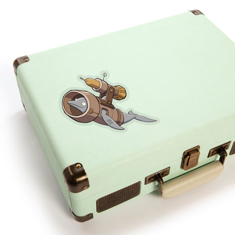 Deponia - Torpedo Dolphin Accessories Sticker by Official Daedalic Merchandise