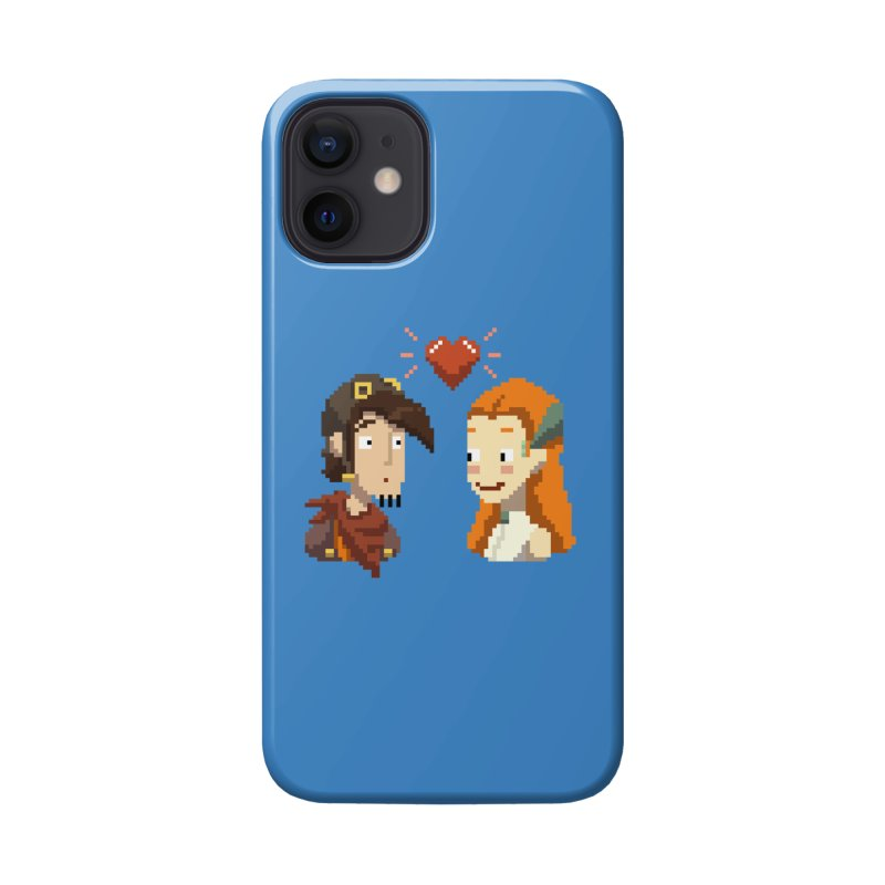 Deponia - Pixel Love Accessories Phone Case by Official Daedalic Merchandise