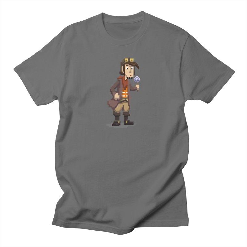 Deponia - Pixel Rufus Men's T-Shirt by Official Daedalic Merchandise