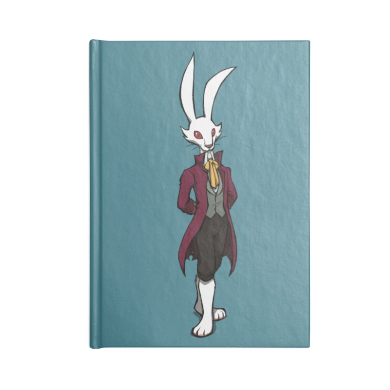 The Night of the Rabbit - Marquis de Hoto Accessories Notebook by Official Daedalic Merchandise