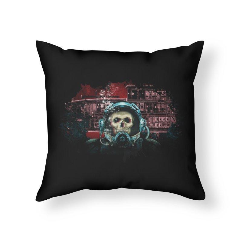 Barotrauma - A Diver's Fate Home Throw Pillow by Official Daedalic Merchandise