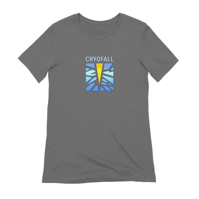 CryoFall - Logo Women's T-Shirt by Official Daedalic Merchandise