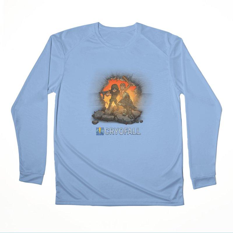 CryoFall - Breach Women's Longsleeve T-Shirt by Official Daedalic Merchandise