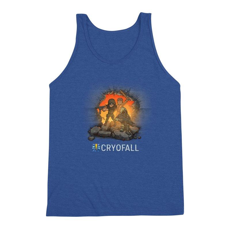 CryoFall - Breach Men's Tank by Official Daedalic Merchandise