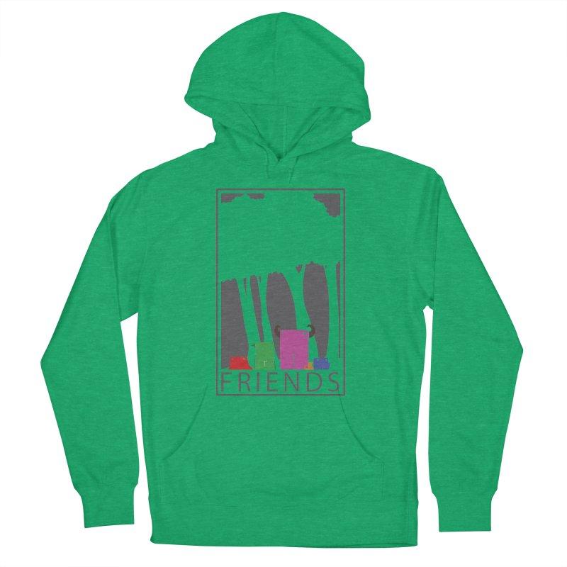 FRIENDS Women's Pullover Hoody by Dagoozle's Artist Shop