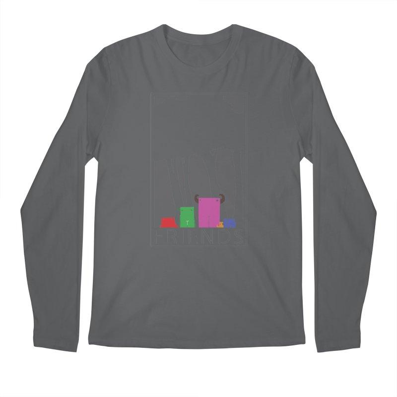 FRIENDS Men's Longsleeve T-Shirt by Dagoozle's Artist Shop