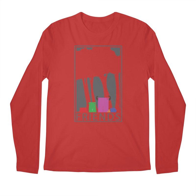 FRIENDS Men's Regular Longsleeve T-Shirt by Dagoozle's Artist Shop