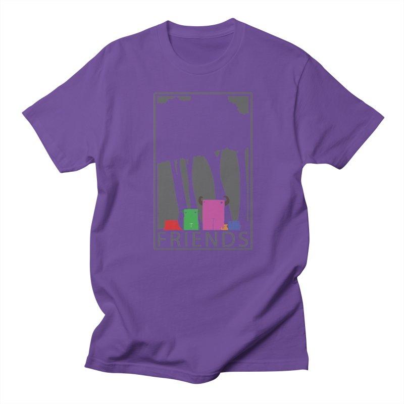 FRIENDS Women's Unisex T-Shirt by Dagoozle's Artist Shop