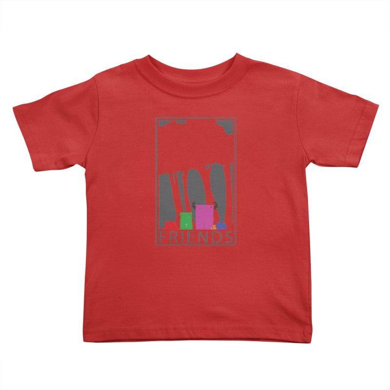 FRIENDS Kids Toddler T-Shirt by Dagoozle's Artist Shop