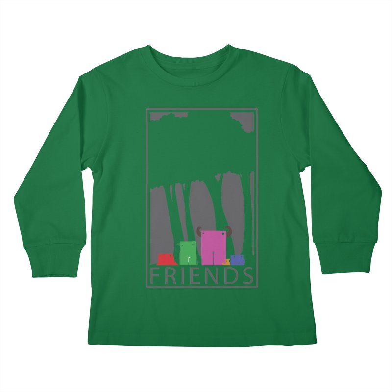 FRIENDS Kids Longsleeve T-Shirt by Dagoozle's Artist Shop