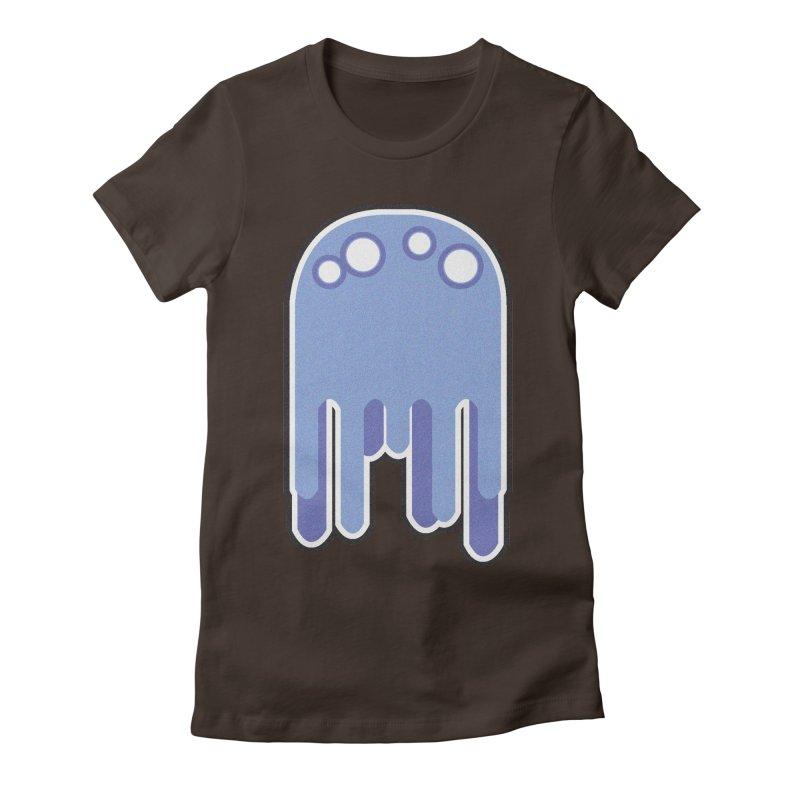 Gooey Women's Fitted T-Shirt by Dagoozle's Artist Shop
