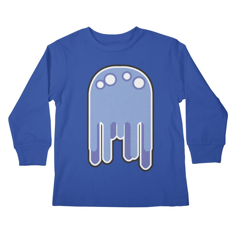 Gooey Kids Longsleeve T-Shirt by Dagoozle's Artist Shop