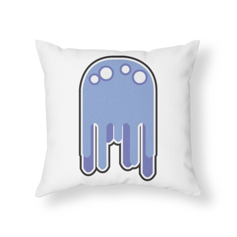 Gooey Home Throw Pillow by Dagoozle's Artist Shop