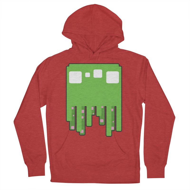 Gooey-ish Men's French Terry Pullover Hoody by Dagoozle's Artist Shop