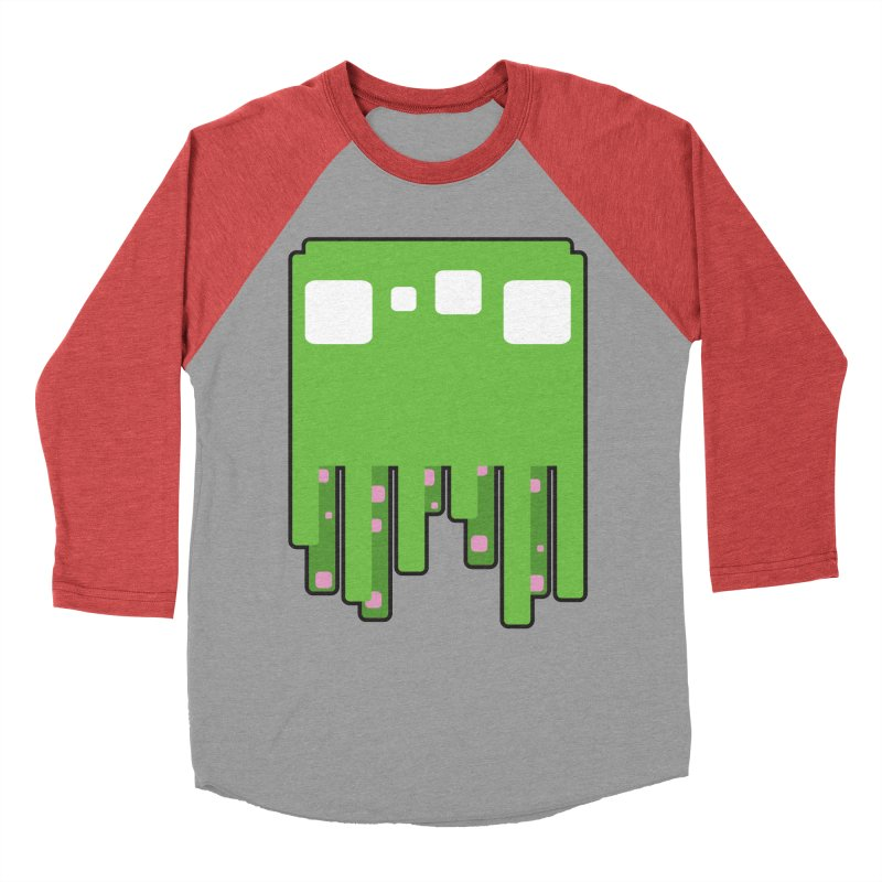 Gooey-ish Men's Baseball Triblend T-Shirt by Dagoozle's Artist Shop