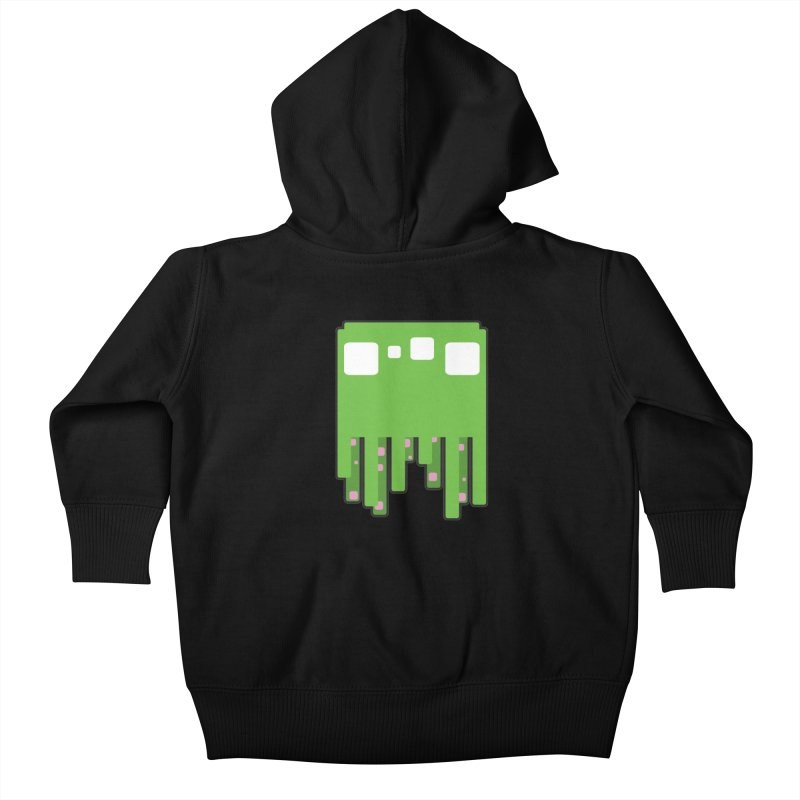 Gooey-ish Kids Baby Zip-Up Hoody by Dagoozle's Artist Shop