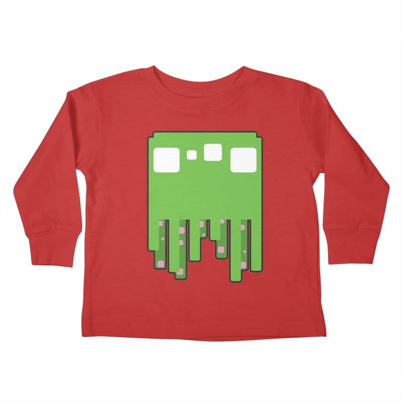 Gooey-ish Kids Toddler Longsleeve T-Shirt by Dagoozle's Artist Shop