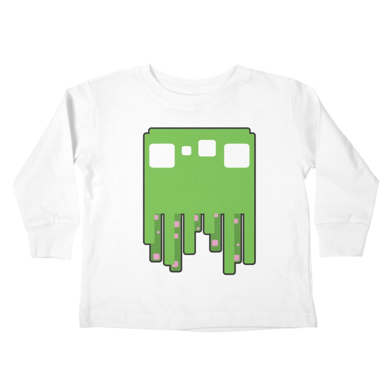 Gooey-ish Kids Toddler Longsleeve T-Shirt by Dagoozle's Artist Shop