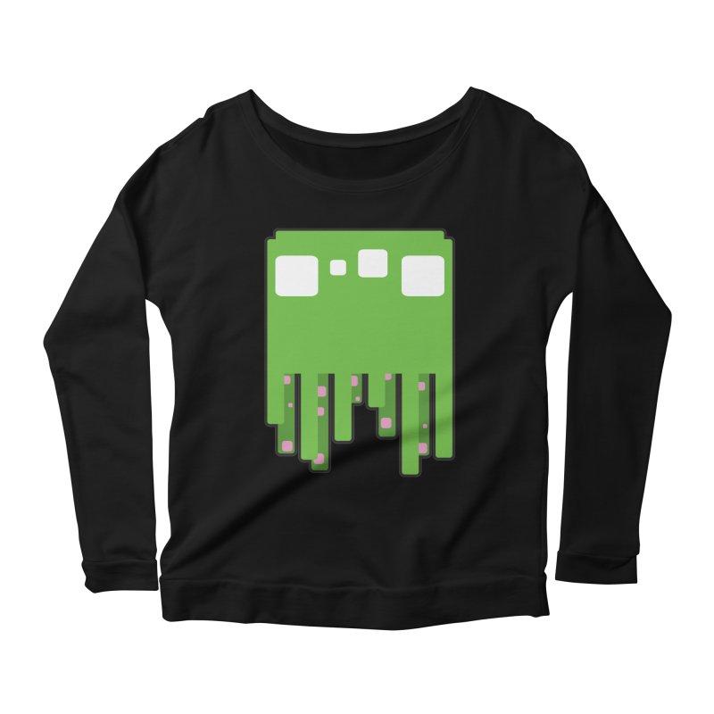 Gooey-ish Women's Scoop Neck Longsleeve T-Shirt by Dagoozle's Artist Shop
