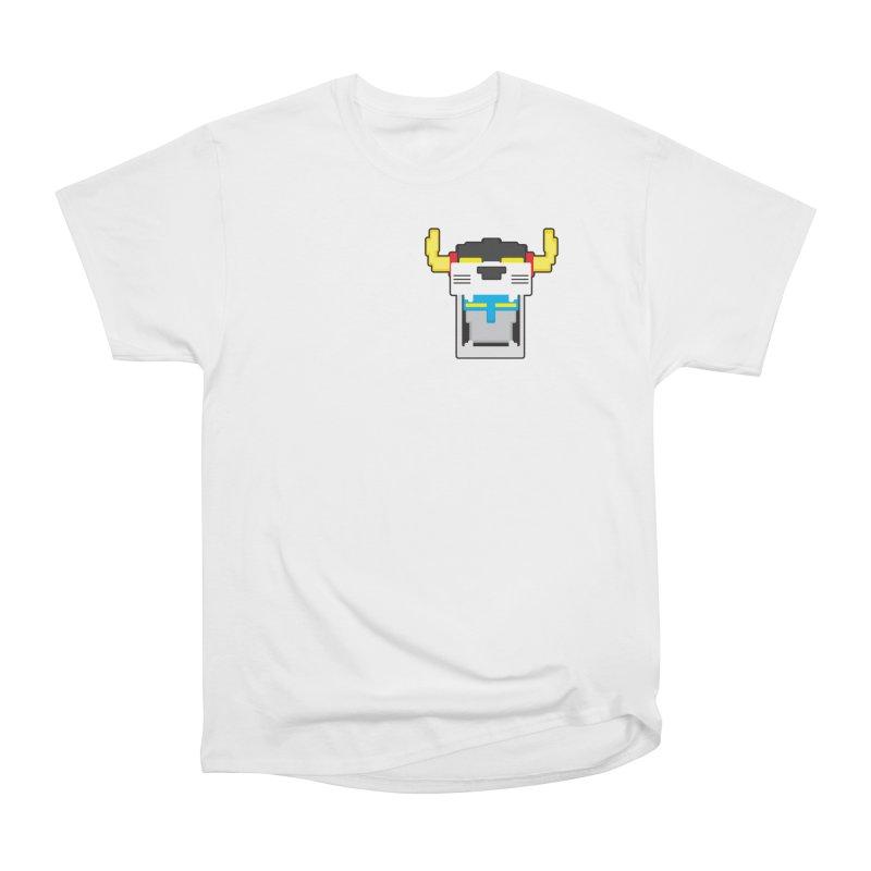 Voltron Cubed Head Men's Classic T-Shirt by Dagoozle's Artist Shop