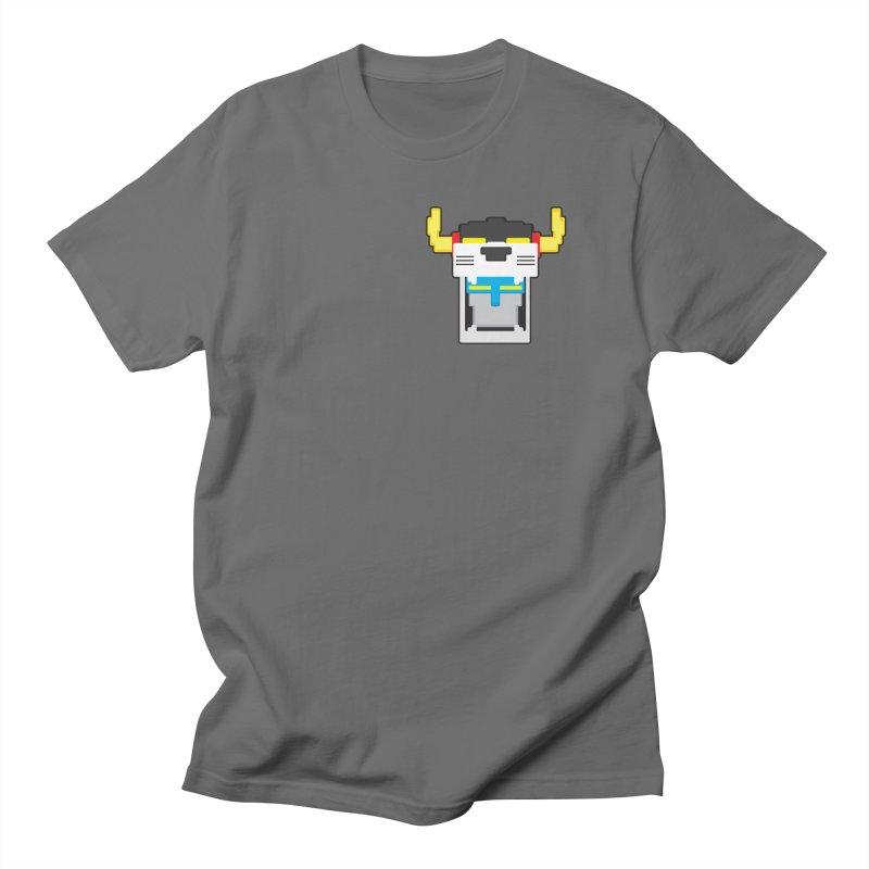 Voltron Cubed Head Women's Unisex T-Shirt by Dagoozle's Artist Shop