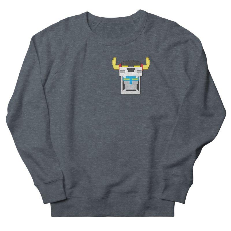 Voltron Cubed Head Men's Sweatshirt by Dagoozle's Artist Shop