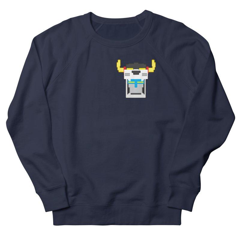 Voltron Cubed Head Men's French Terry Sweatshirt by Dagoozle's Artist Shop