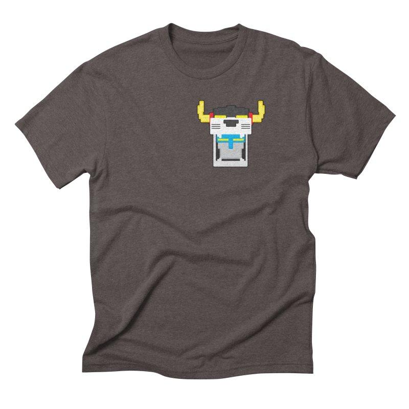 Voltron Cubed Head Men's Triblend T-Shirt by Dagoozle's Artist Shop
