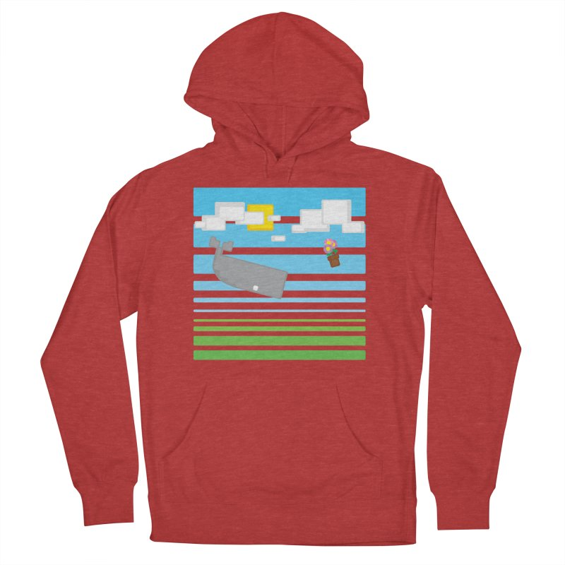 HHGTTG 42 Women's French Terry Pullover Hoody by Dagoozle's Artist Shop