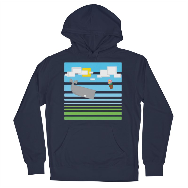 HHGTTG 42 Men's French Terry Pullover Hoody by Dagoozle's Artist Shop