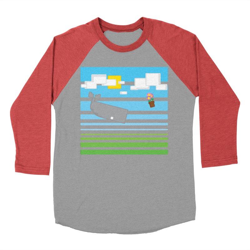 HHGTTG 42 Men's Baseball Triblend T-Shirt by Dagoozle's Artist Shop
