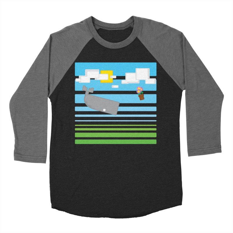 HHGTTG 42 Men's Baseball Triblend Longsleeve T-Shirt by Dagoozle's Artist Shop