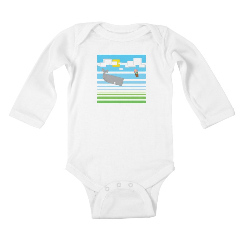 HHGTTG 42 Kids Baby Longsleeve Bodysuit by Dagoozle's Artist Shop