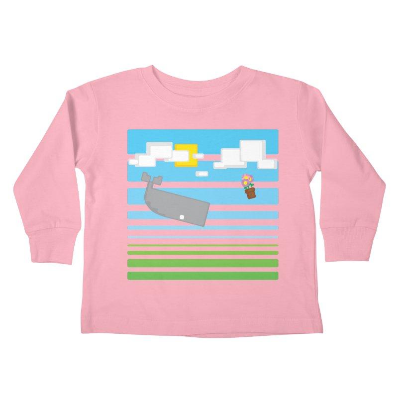HHGTTG 42 Kids Toddler Longsleeve T-Shirt by Dagoozle's Artist Shop