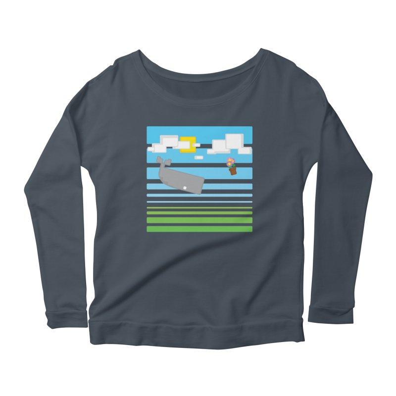 HHGTTG 42 Women's Scoop Neck Longsleeve T-Shirt by Dagoozle's Artist Shop