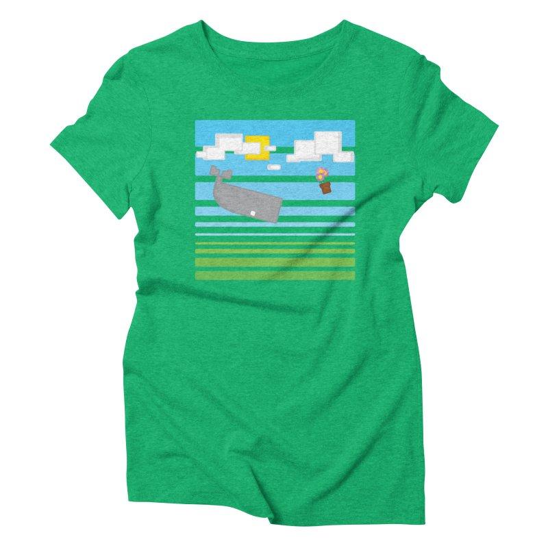 HHGTTG 42 Women's Triblend T-Shirt by Dagoozle's Artist Shop
