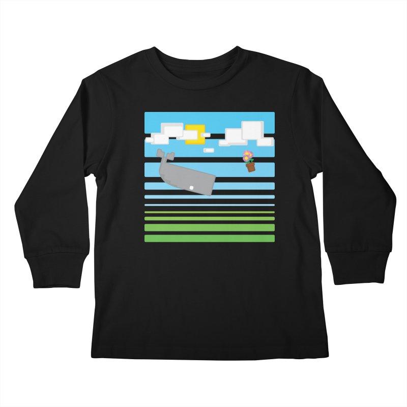 HHGTTG 42 Kids Longsleeve T-Shirt by Dagoozle's Artist Shop