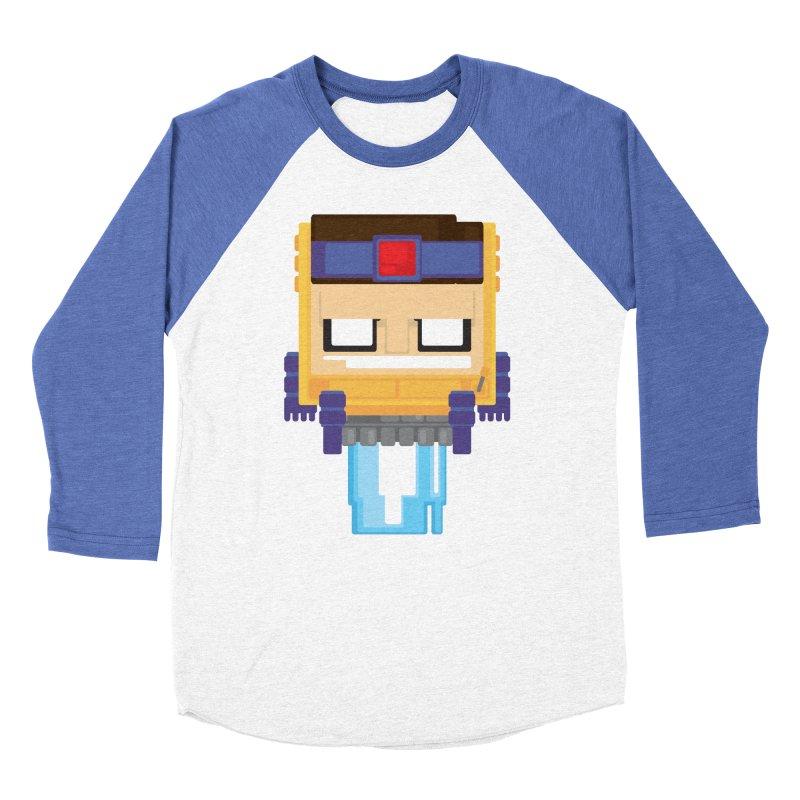 M.O.D.O.K. Men's Baseball Triblend T-Shirt by Dagoozle's Artist Shop