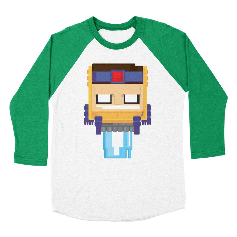 M.O.D.O.K. Men's Baseball Triblend Longsleeve T-Shirt by Dagoozle's Artist Shop