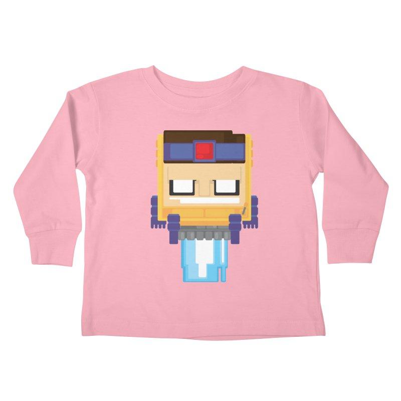 M.O.D.O.K. Kids Toddler Longsleeve T-Shirt by Dagoozle's Artist Shop